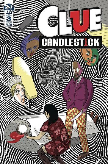 CLUE CANDLESTICK #3 CVR A SHAW