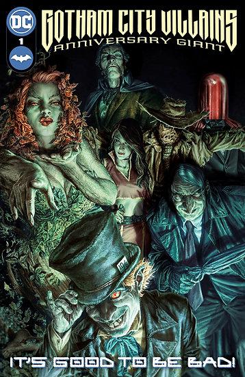 Gotham City Villains Anniversary Giant (One Shot)