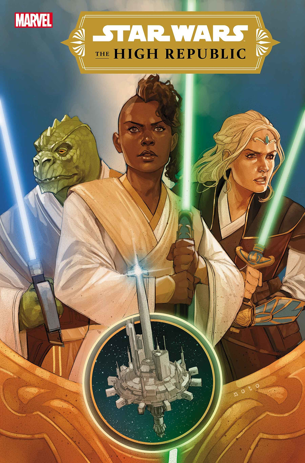 Star Wars: The High Republic #1 cover (c)Marvel
