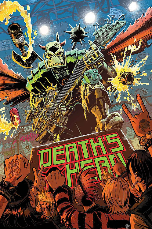 DEATHS HEAD #1 (OF 4) (75960609353300111)