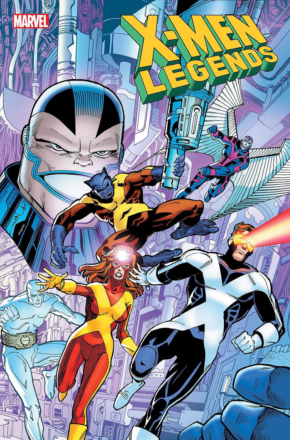 X-Men Legends #3 Cover