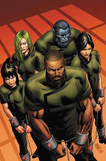 AGE OF X-MAN PRISONER X #1 (OF 5) (75960609214700111)