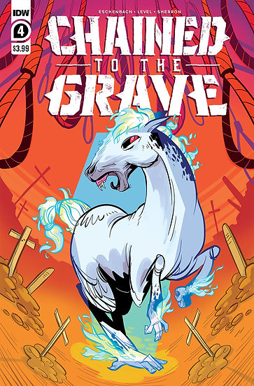 CHAINED TO THE GRAVE #4 (OF 5) CVR A SHERRON