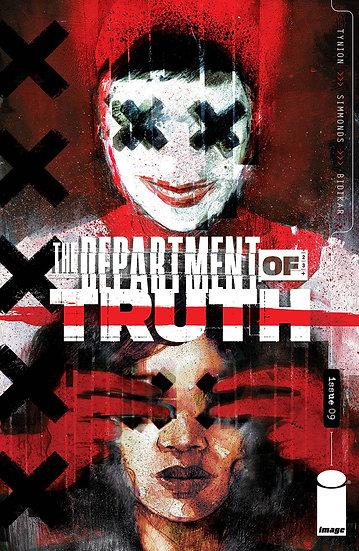 DEPARTMENT OF TRUTH #9 CVR A SIMMONDS (MR)