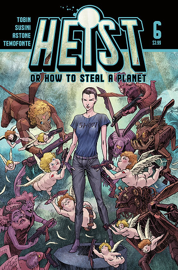 HEIST HOW TO STEAL A PLANET #6