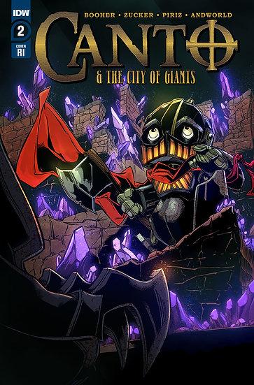 CANTO & CITY OF GIANTS #2 (OF 3) 10 COPY INCV ZUCKER (Net)