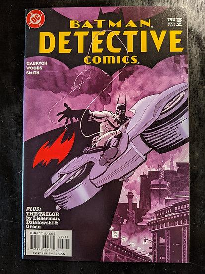 DETECTIVE COMICS #792