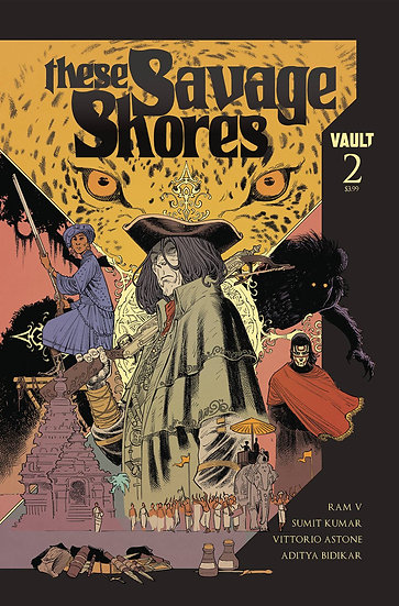THESE SAVAGE SHORES #2 (MR)