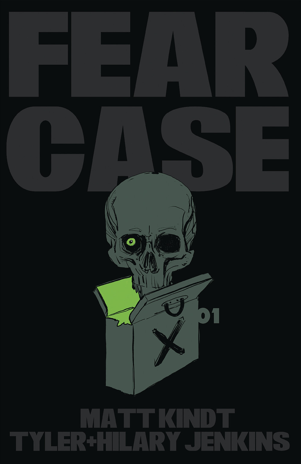 Fear Case #1 Cover