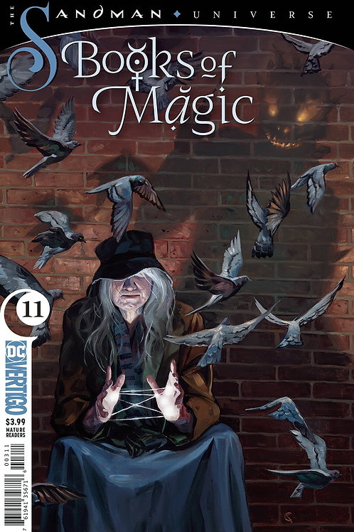 BOOKS OF MAGIC #11 (MR)