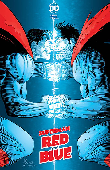 SUPERMAN RED & BLUE #4