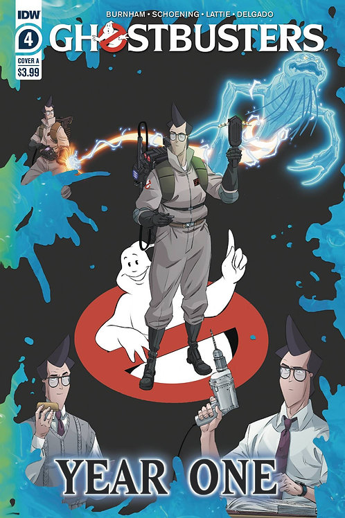 GHOSTBUSTERS YEAR ONE #4 (OF 4) CVR A SHOENING (C: 1-0-0)
