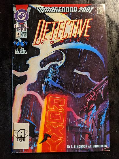 DETECTIVE COMICS ANNUAL #4 (1991)