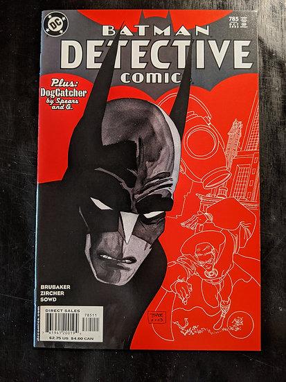 DETECTIVE COMICS #785