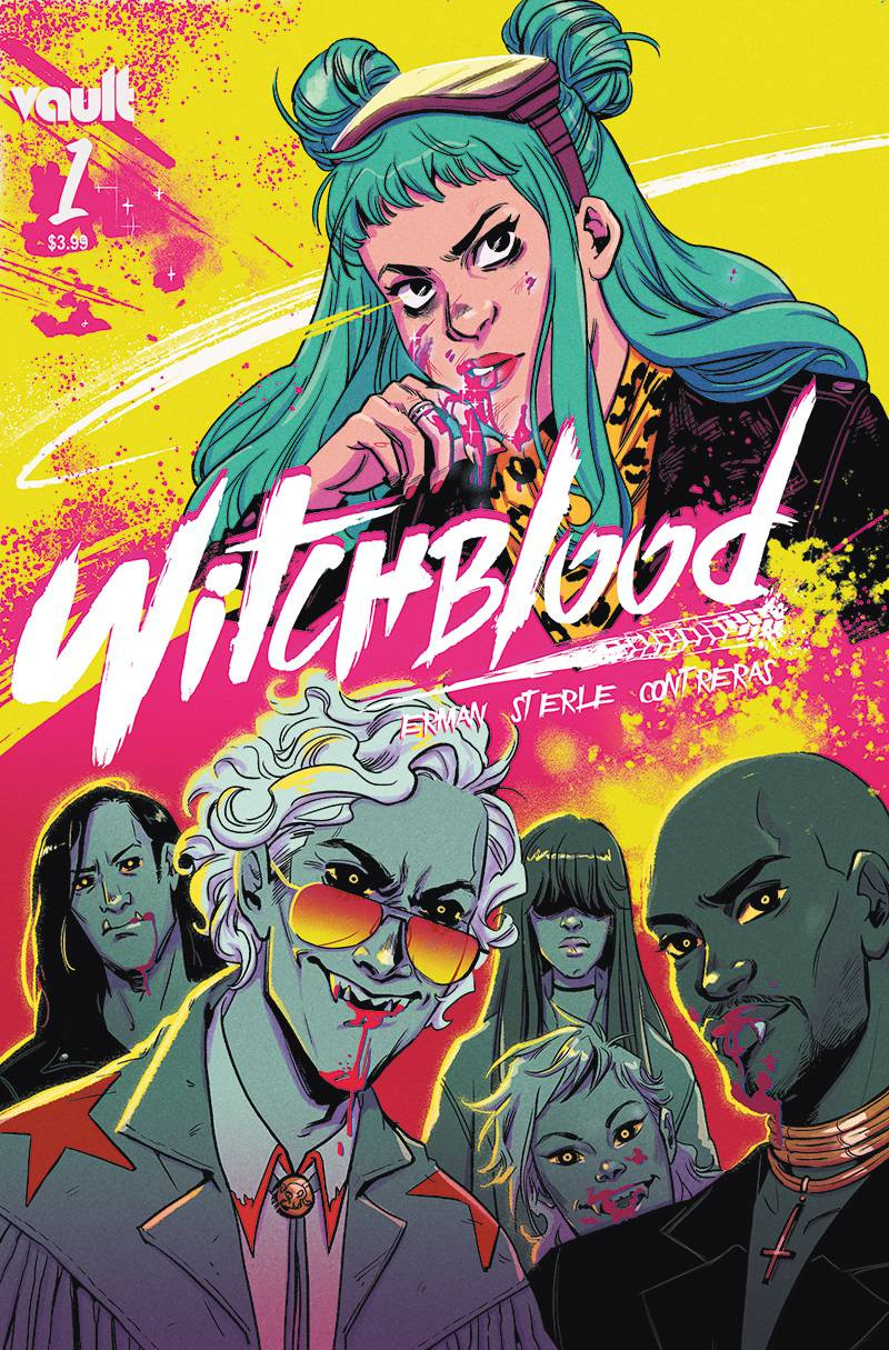 Witchblood #1 Cover