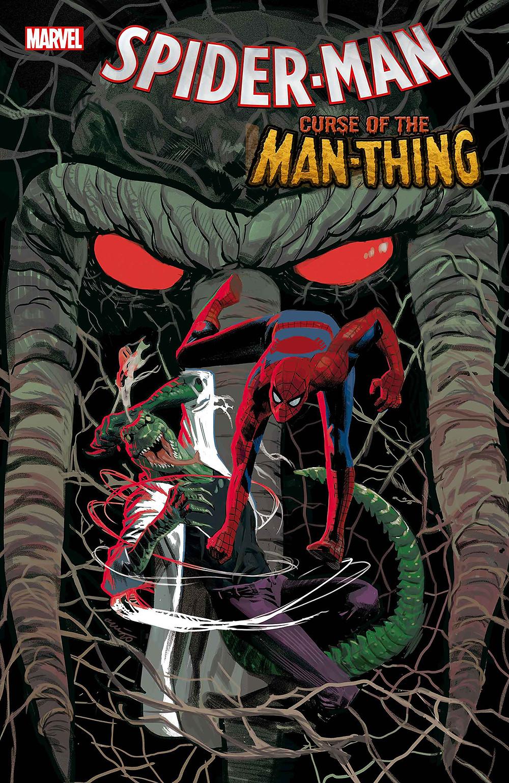 Spider-Man Curse of Man-Thing #1 Cvr