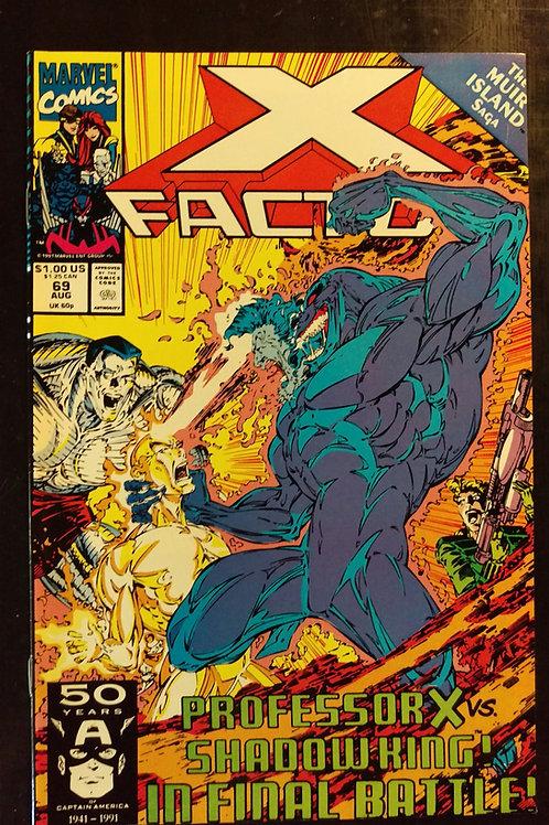 X FACTOR #69 (AUG 91)
