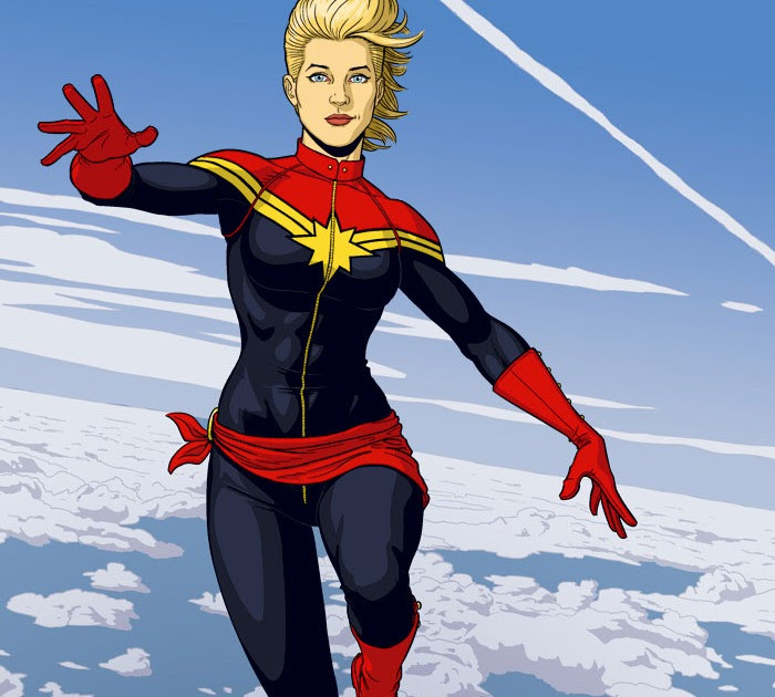 Jamie McKelvie's Captain Marvel
