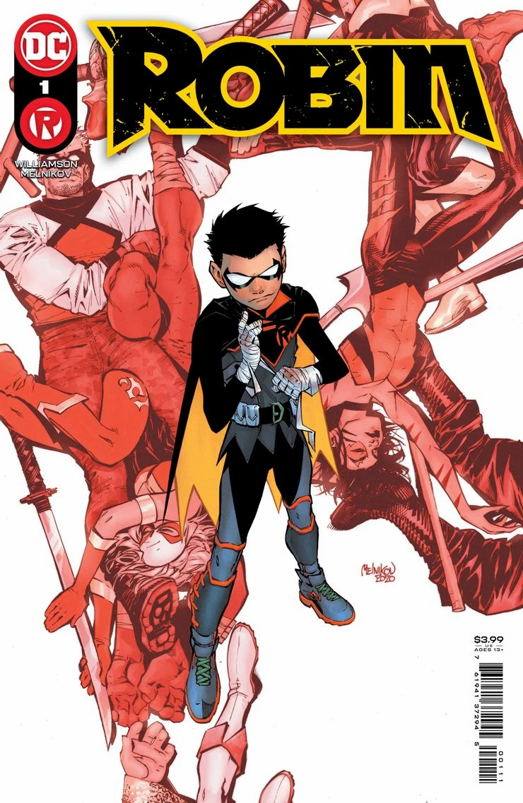 Cover to Robin #1 - Coming in April