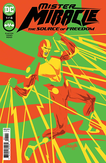 MISTER MIRACLE SOURCE OF FREEDOM #1 CVR A PAQUETTE