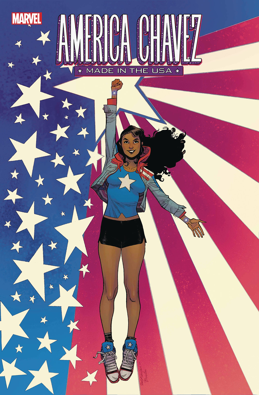 America Chavez: Made in the USA #1 cover