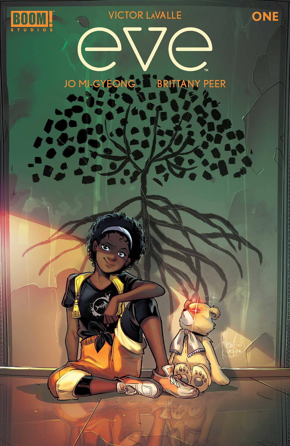 Eve #1 Cover