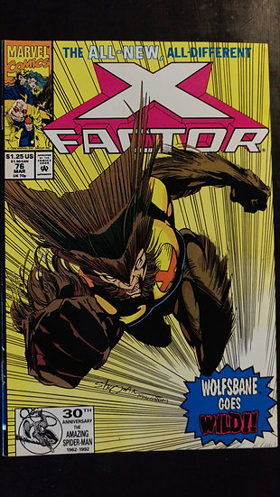X FACTOR #76 (MAR 92)