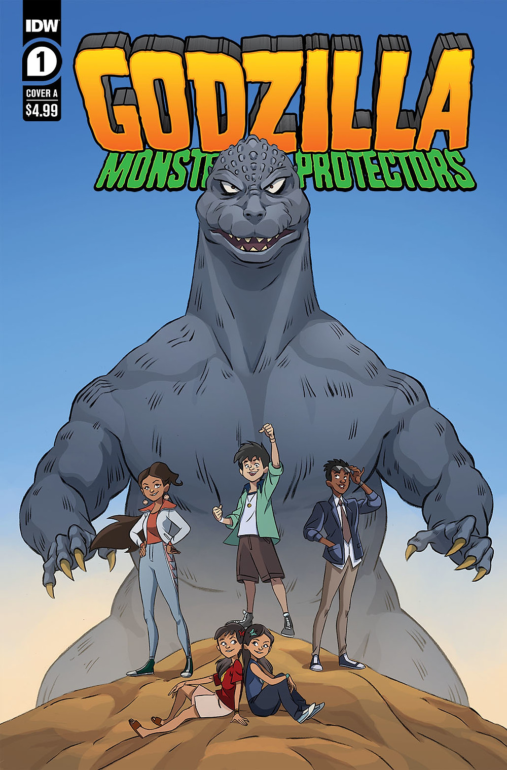 Godzilla: Monsters and Protectors #1 Cover