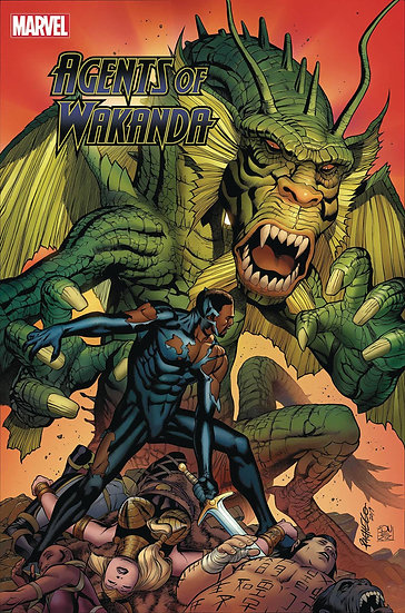 BLACK PANTHER AND AGENTS OF WAKANDA #8 (75960609509400811)
