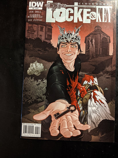Locke & Key Clockworks #6
