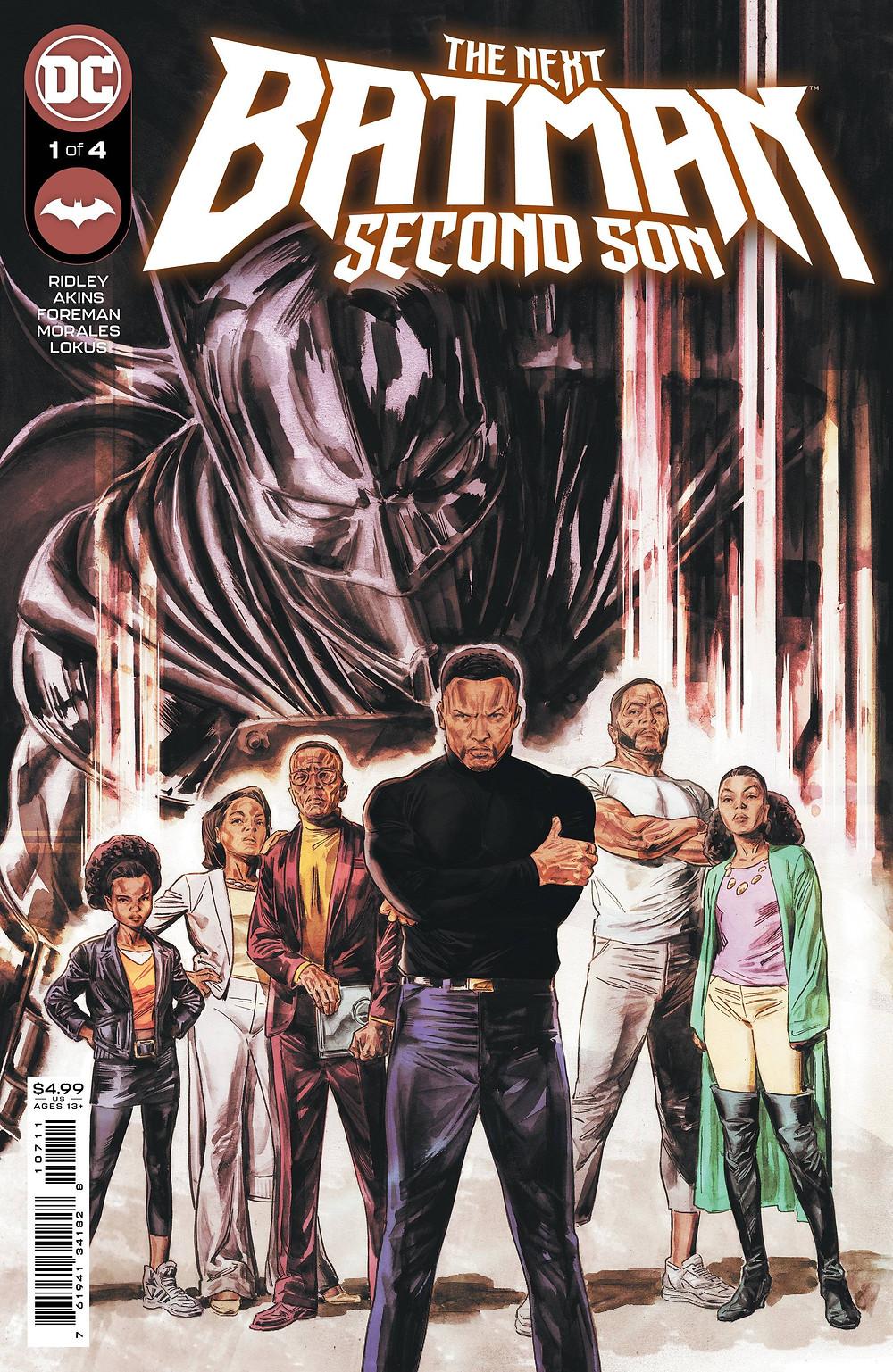 Next Batman: Second Son #1 cover