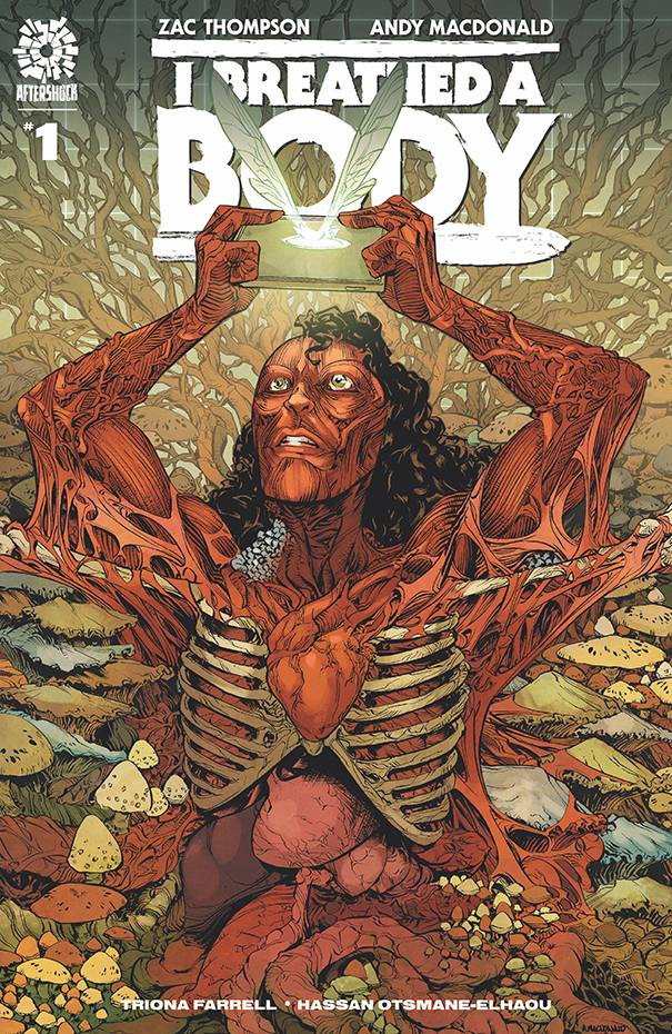 I Breathed a Body #1 Cover