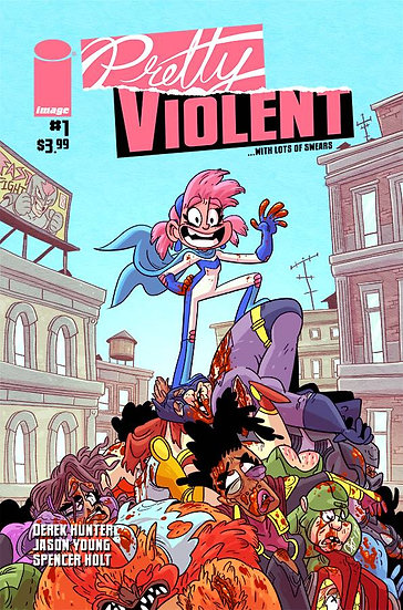 PRETTY VIOLENT #1 CVR A HUNTER (MR)