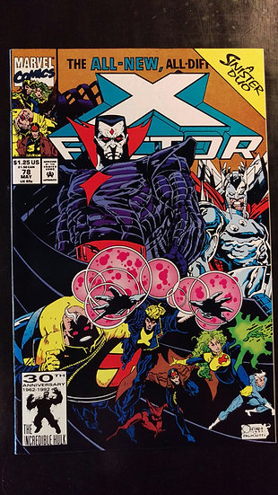 X FACTOR #78 (MAY 92)