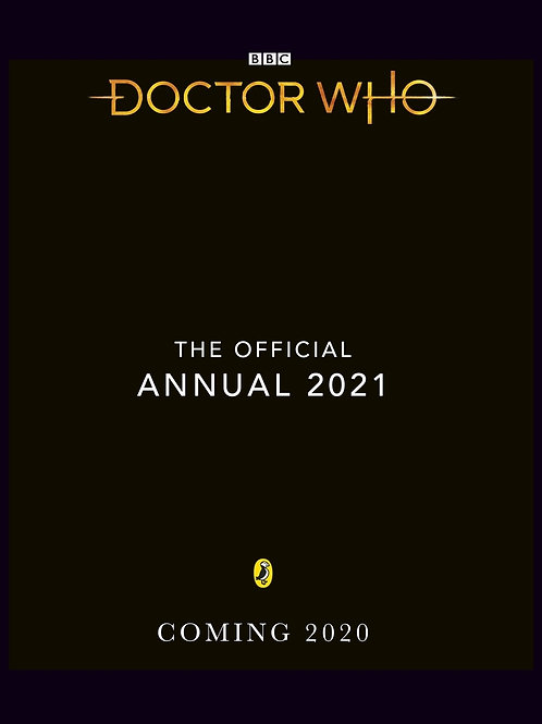 DOCTOR WHO OFFICIAL ANNUAL 2021 (C: 1-1-2)