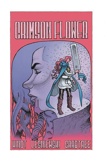 CRIMSON FLOWER #4 (OF 4) CVR A LESNIEWSKI
