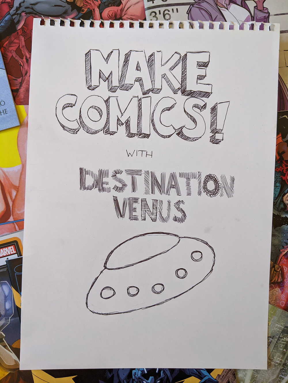 Make Comics cover