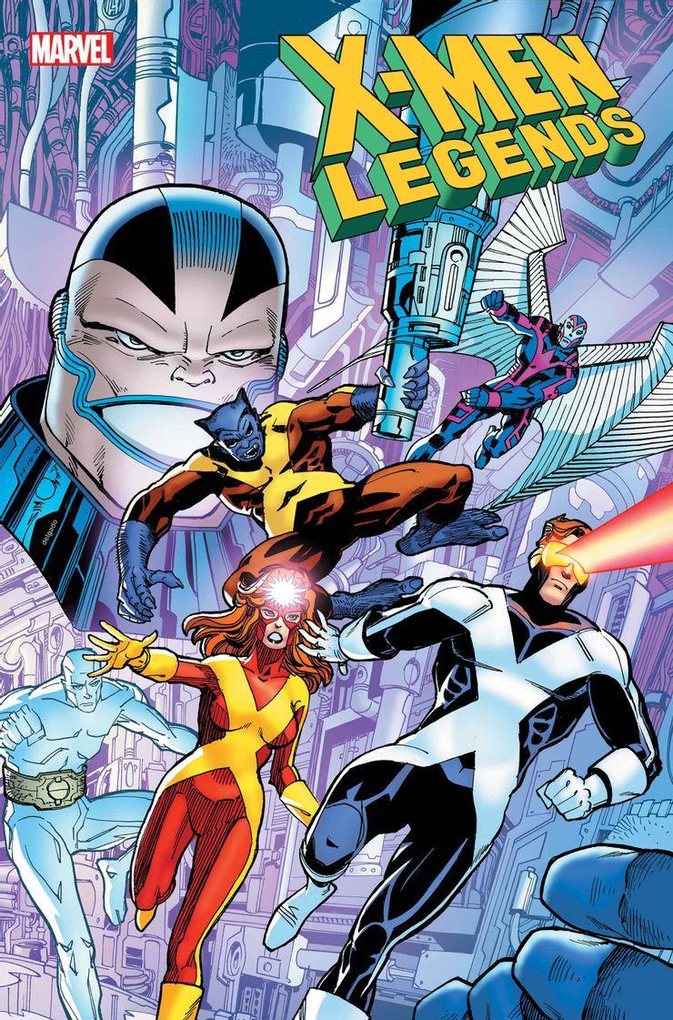 X-Men Legends #3 Cover. Art by Walter Simonson (c) Marvel Comics