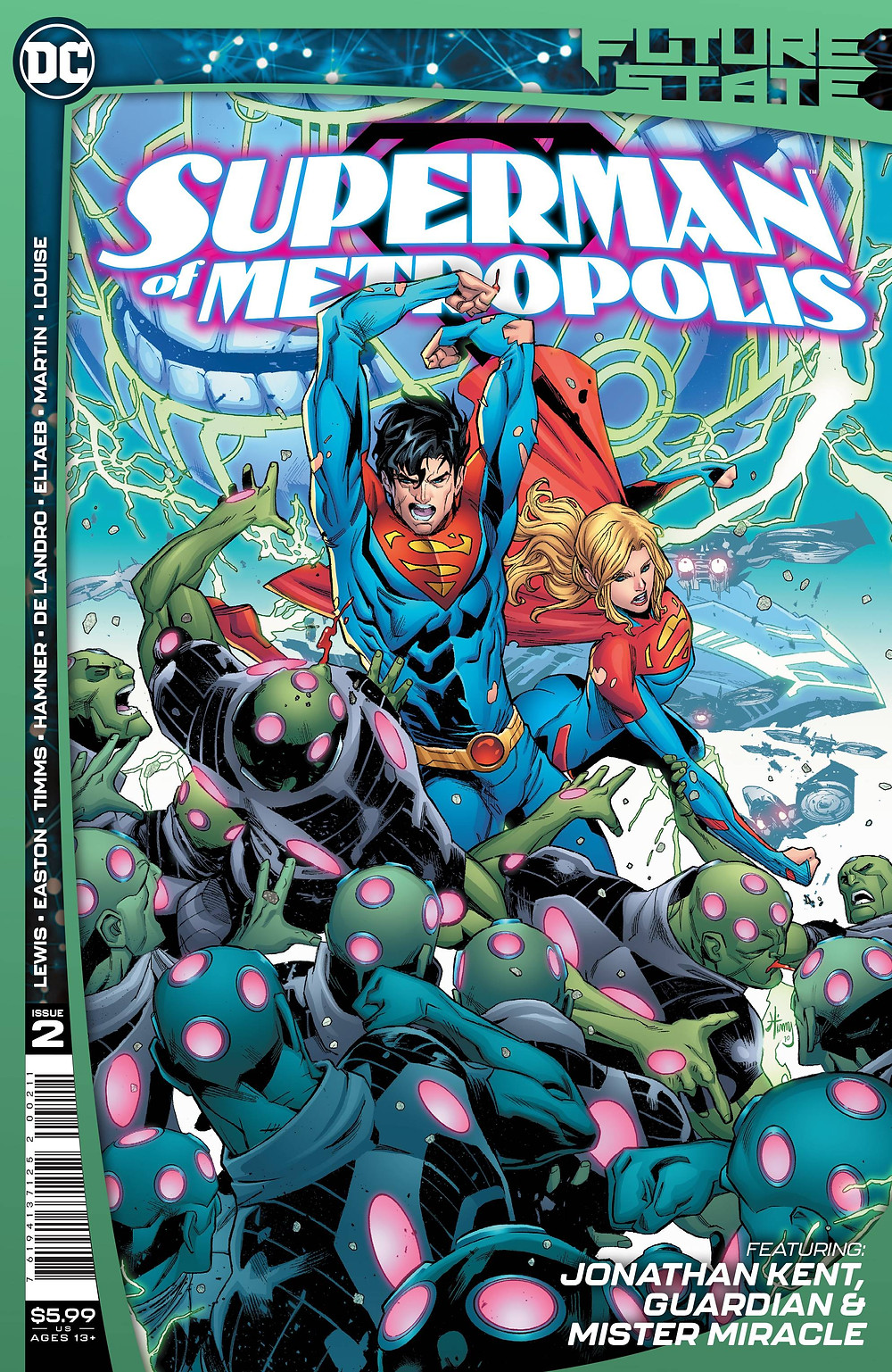 Future State: Superman of Metropolis #2 Cover