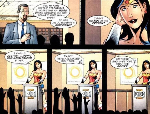 Taken from of the early Rebirth issues of Wonder Woman. I do own the comic, but couldn't find it so I borrowed this scan off the internet and unable to credit the artist. (c) DC Comics