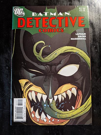 DETECTIVE COMICS #811