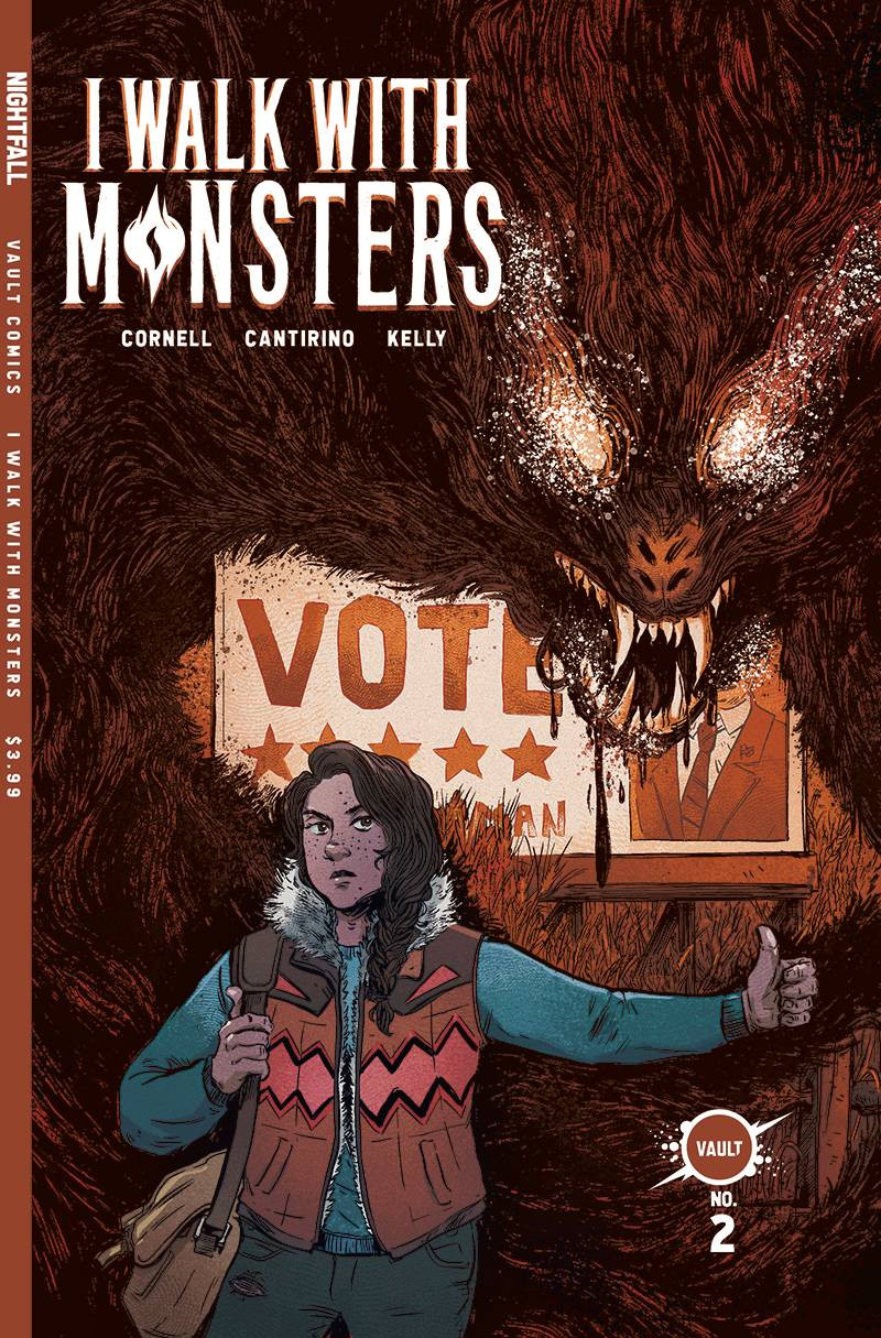 I Walk with Monsters #1 Cover.
