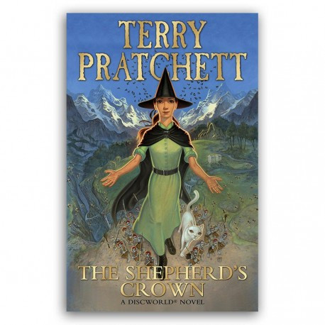 The cover to Sir Terry Pratchett's The Shepherd's Crown