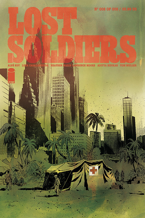 LOST SOLDIERS #2 (OF 5) (MR)