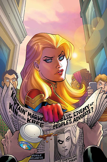CAPTAIN MARVEL #8 (75960609268000811)