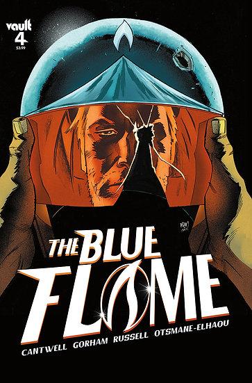 BLUE FLAME #4 CVR A GORHAM