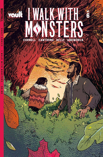 I WALK WITH MONSTERS #6 CVR A CANTIRINO (MR)