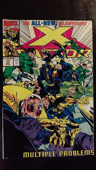 X FACTOR #73 (DEC 91)