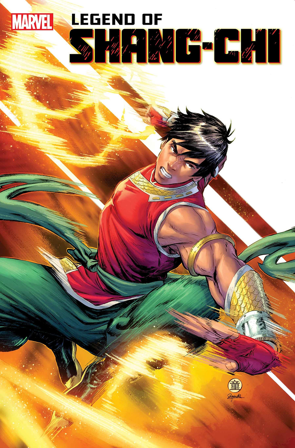 Legend of Shang-Chi #1 Cover