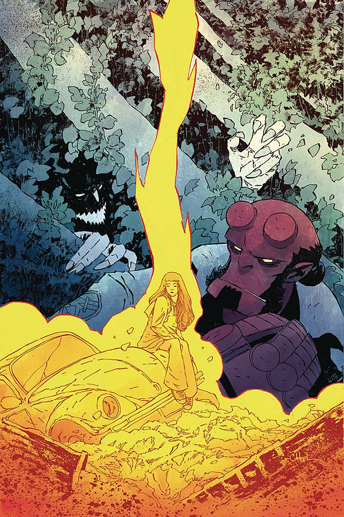 HELLBOY AND THE BPRD SATURN RETURNS #2 (OF 3)
